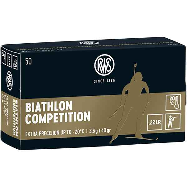 .22 lfb. Biathlon Competition 2,6g/40grs., RWS