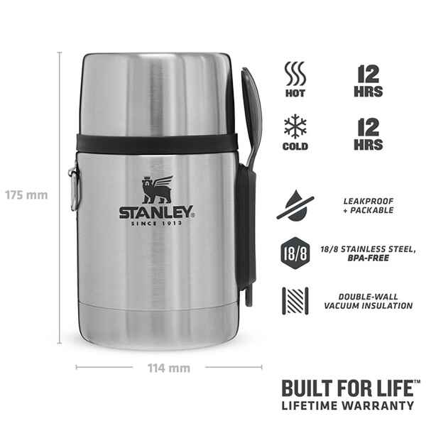 Adventure Vakuum All-In-One Foodcontainer 532 ml, Stanley