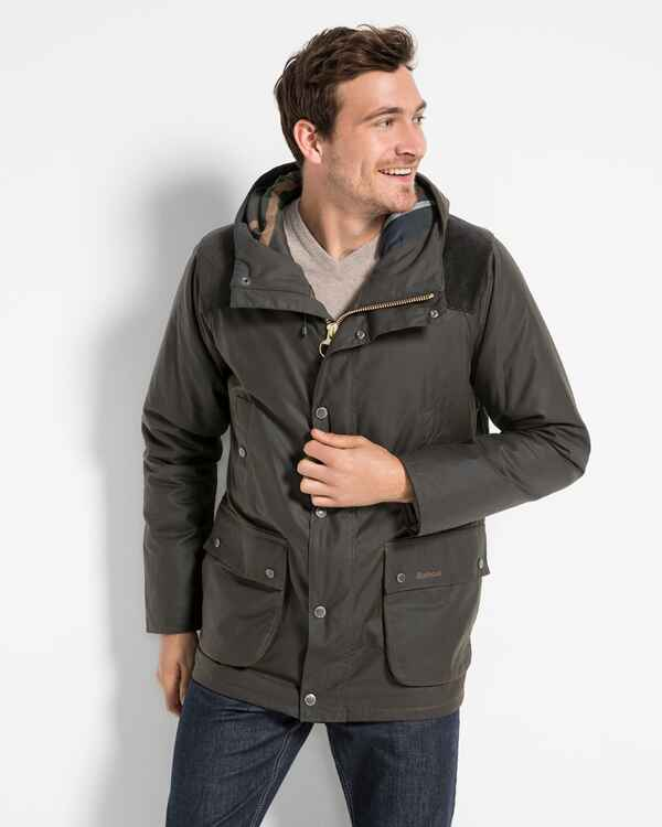 Wachsjacke Louth, Barbour