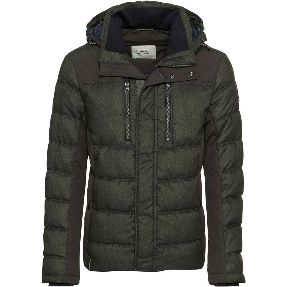 Steppjacke im Materialmix, camel active