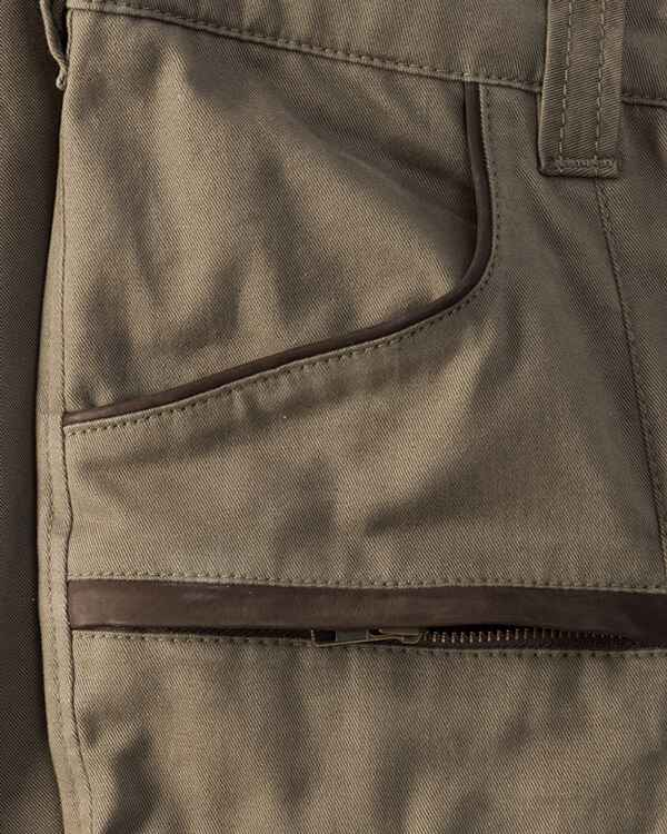 Jagdhose Prestige light Leder + Canvas, Parforce Traditional Hunting
