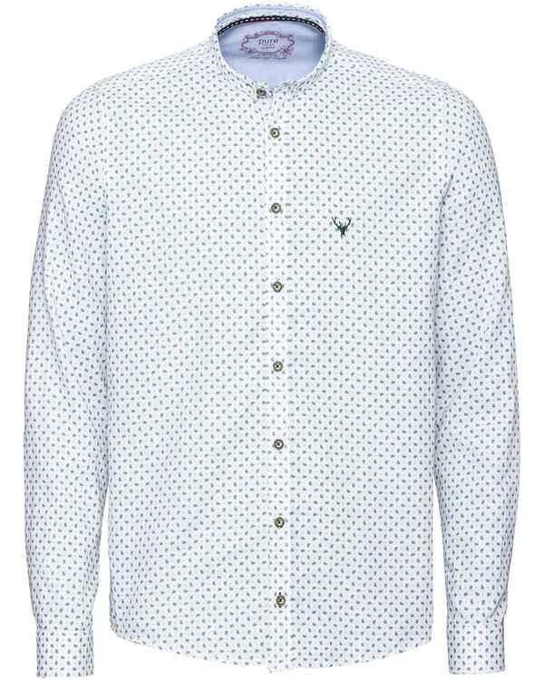 big sale 78684 d1808 pure Hemd mit kleinem Muster