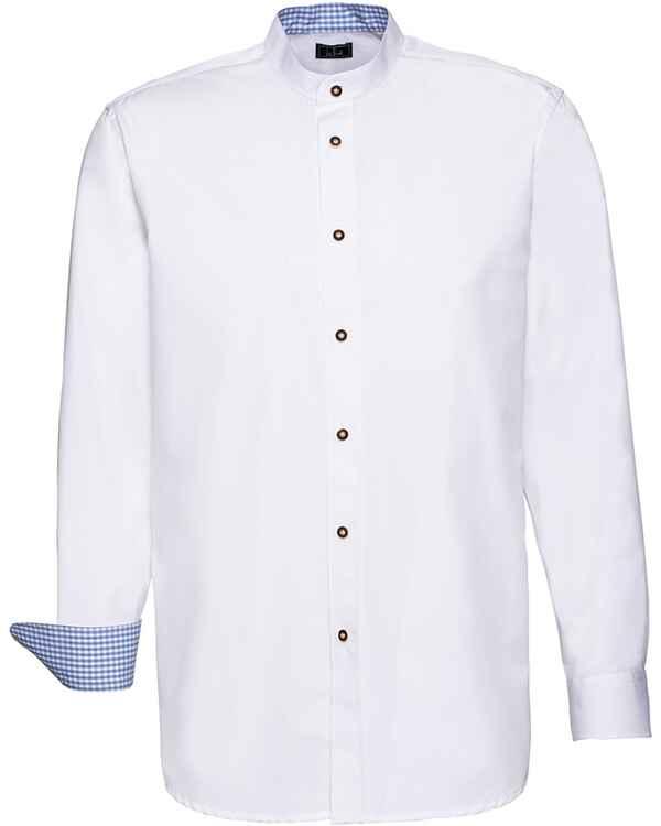 premium selection 8f9fb 920d8 Luis Steindl Stehkragenhemd