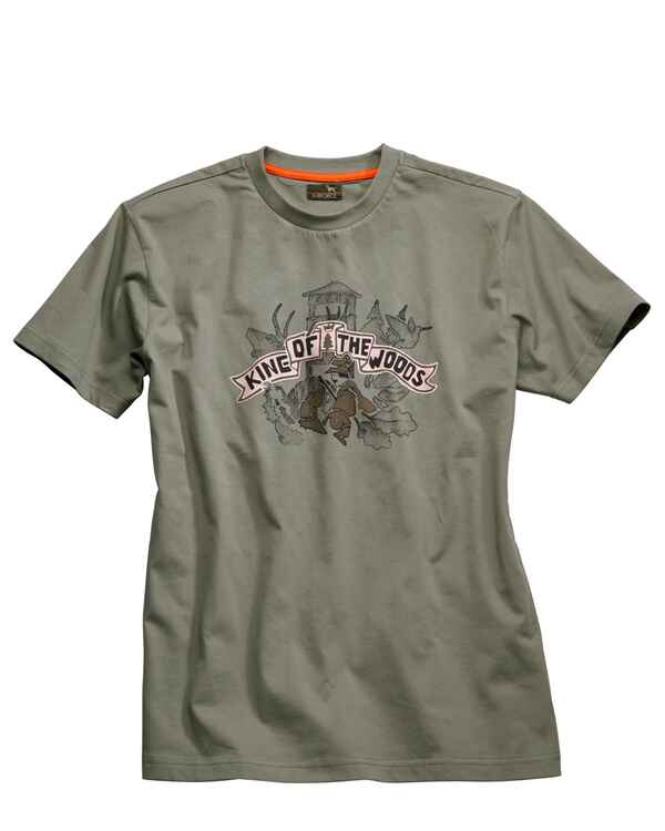 T-Shirt, King of the Woods, Parforce
