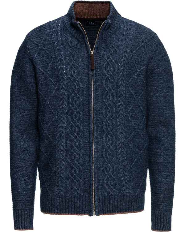 Strickjacke aus Lambswool-Mix, Luis Steindl