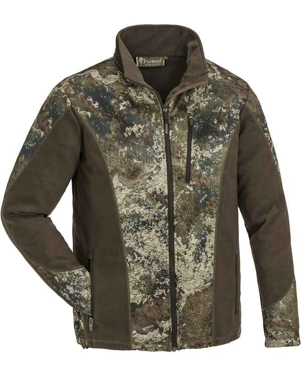 Fleecejacke Tiveden Light Camo, Pinewood