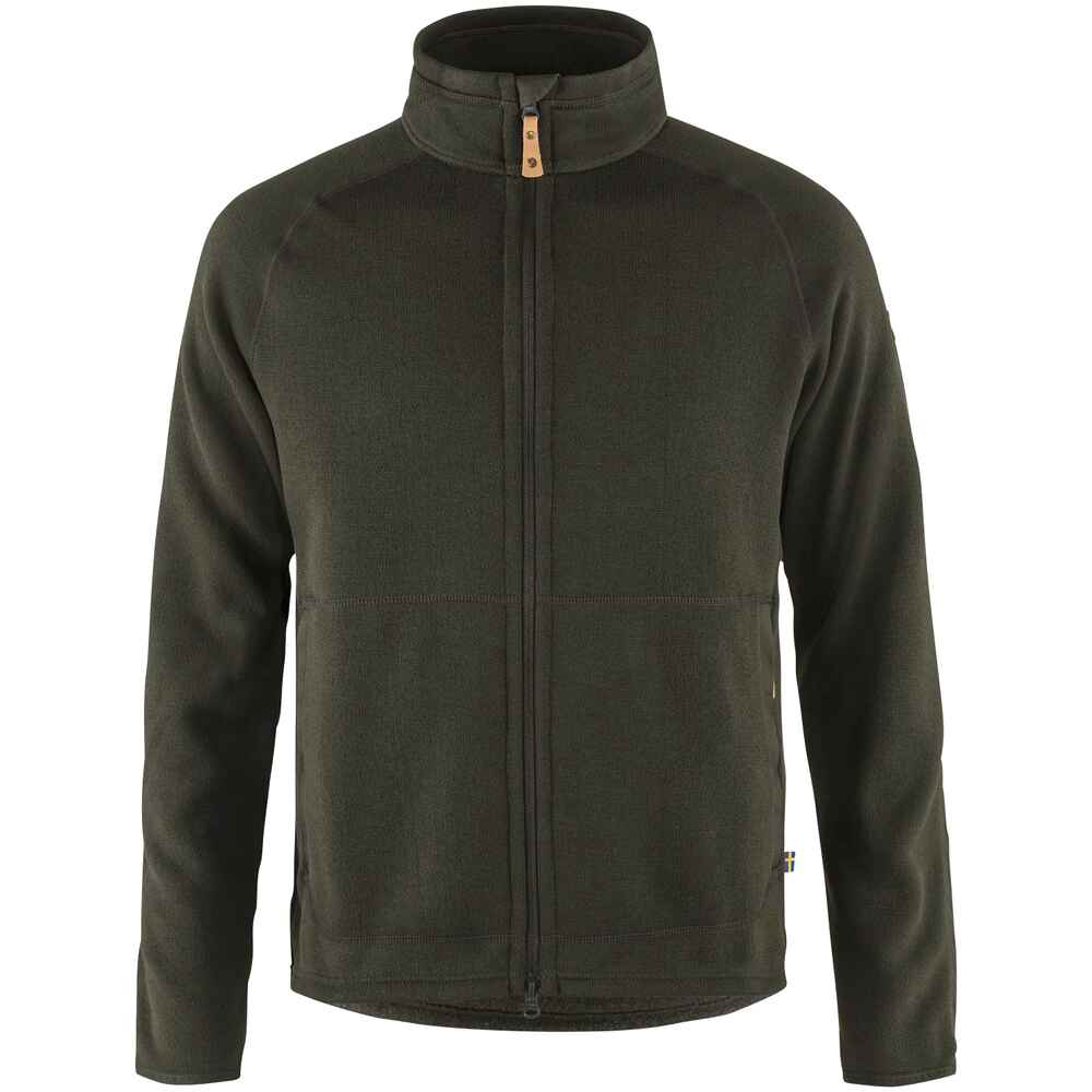 Fleecejacke Övik Fleece Zip, Fjällräven
