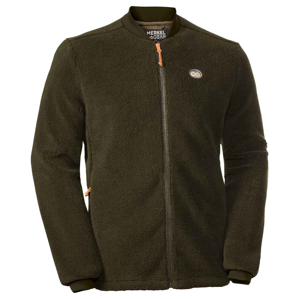Faserpelzjacke Grizzly Fleece, Merkel Gear