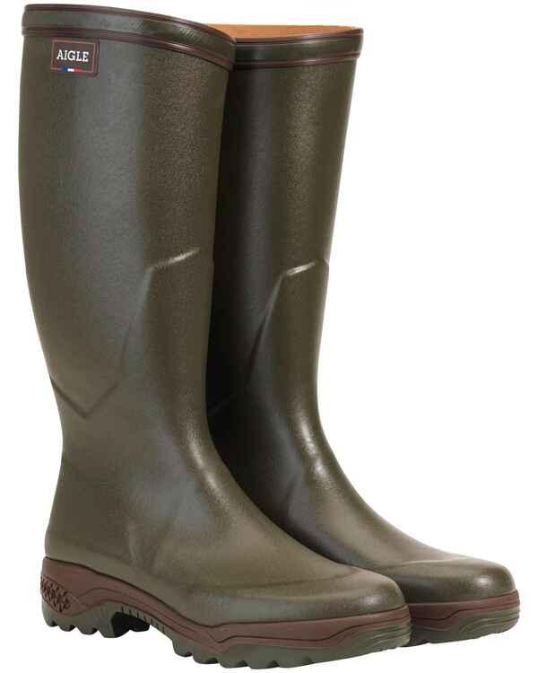 29dff60cf3dfbb Aigle Gummistiefel Parcours® 2 (Oliv) - Gummistiefel - Schuhe für ...
