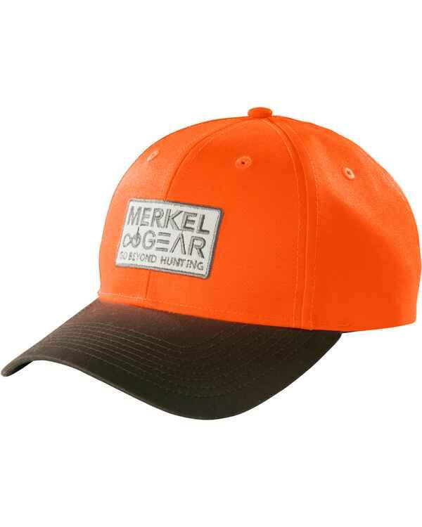 32ad571482d8 Merkel Gear Blaze Cap (orange  braun) - Jagdhüte, Mützen   Caps ...