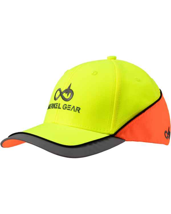 High-Vis Yellow/Blaze Cap, Merkel Gear