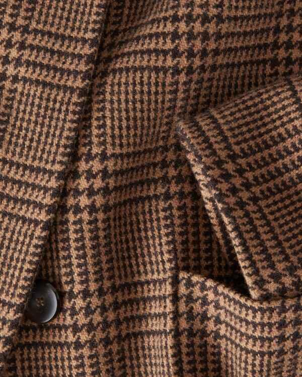 mantel mit glencheck muster brigitte von schnfels - Glencheck Muster