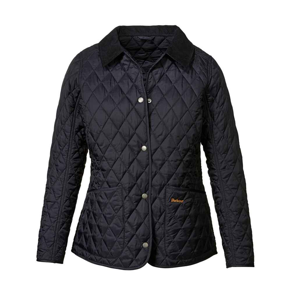 barbour steppjacke annandale blau jacken bekleidung damenmode mode online shop. Black Bedroom Furniture Sets. Home Design Ideas