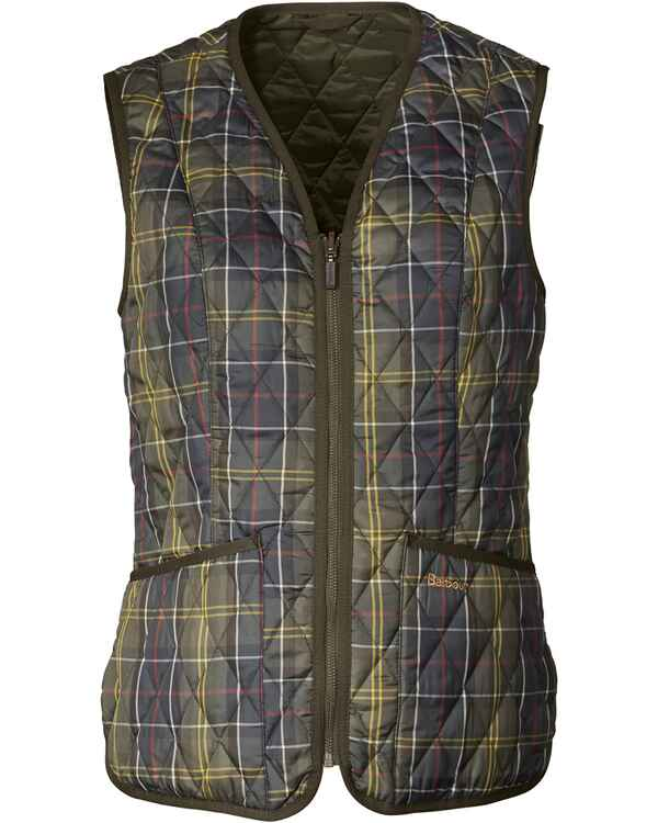 Weste Tartan Betty, Barbour