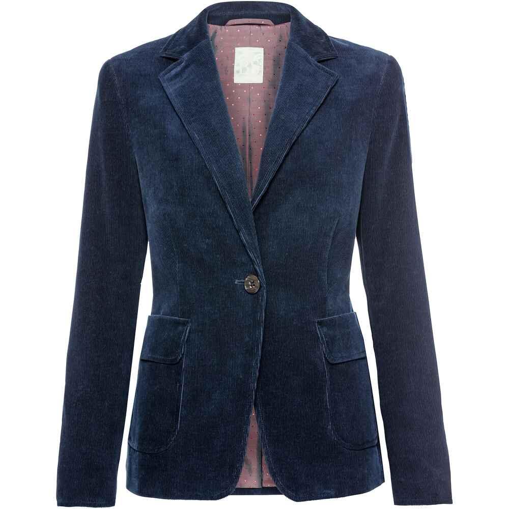 brigitte von sch nfels blazer aus cord blau bestseller damen herbst winter inspiration. Black Bedroom Furniture Sets. Home Design Ideas