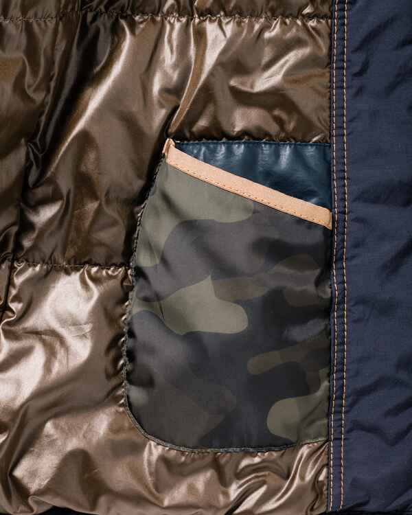 Jacke im Materialmix, camel active