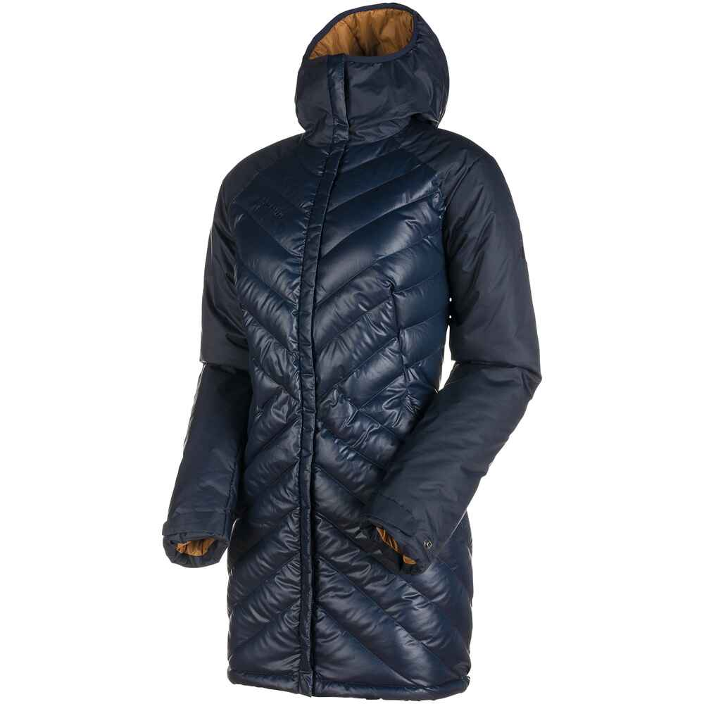 mammut damen parka whitehorn in hooded blau jacken. Black Bedroom Furniture Sets. Home Design Ideas