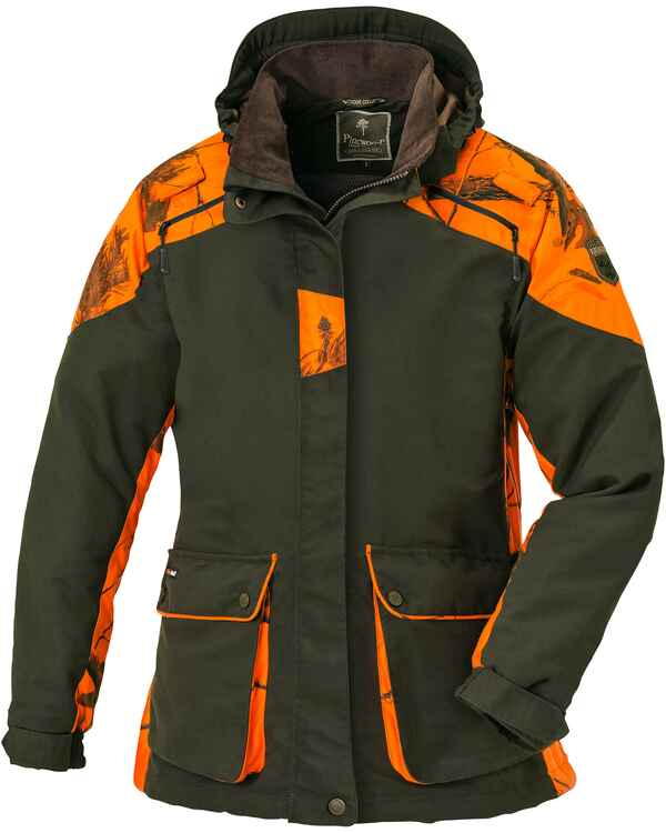 Damen Jacke Red Deer, Pinewood