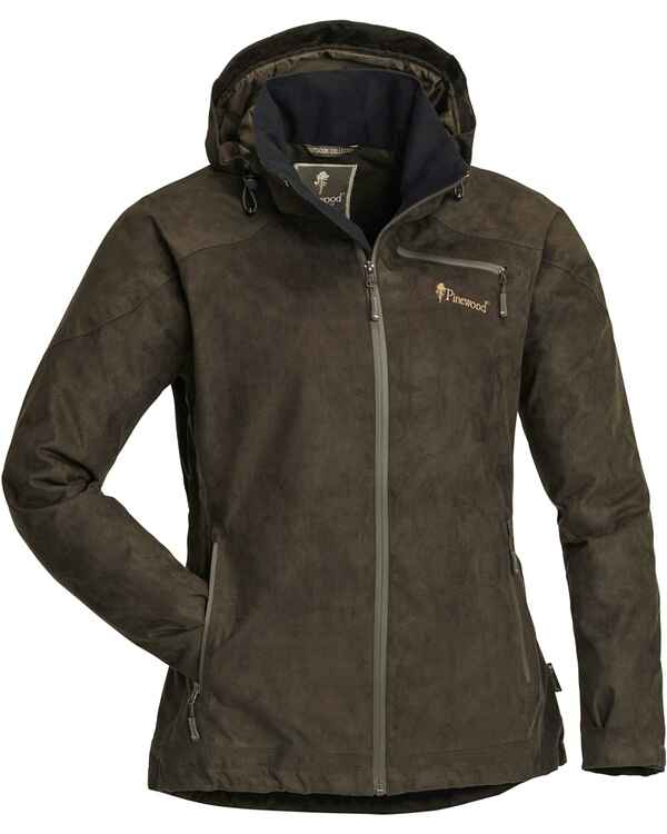 Damen Jacke Grouse Suede, Pinewood