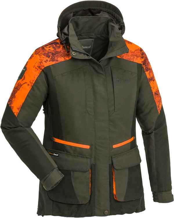 Damen Jacke Forest Camou, Pinewood