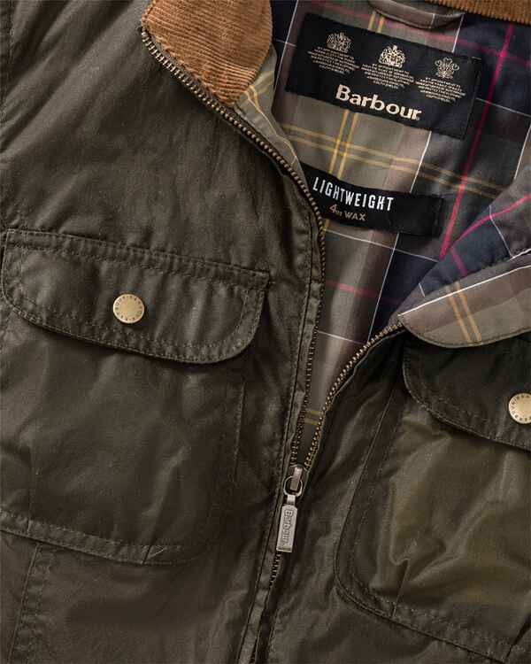 Wachsjacke Lightweight Filey, Barbour