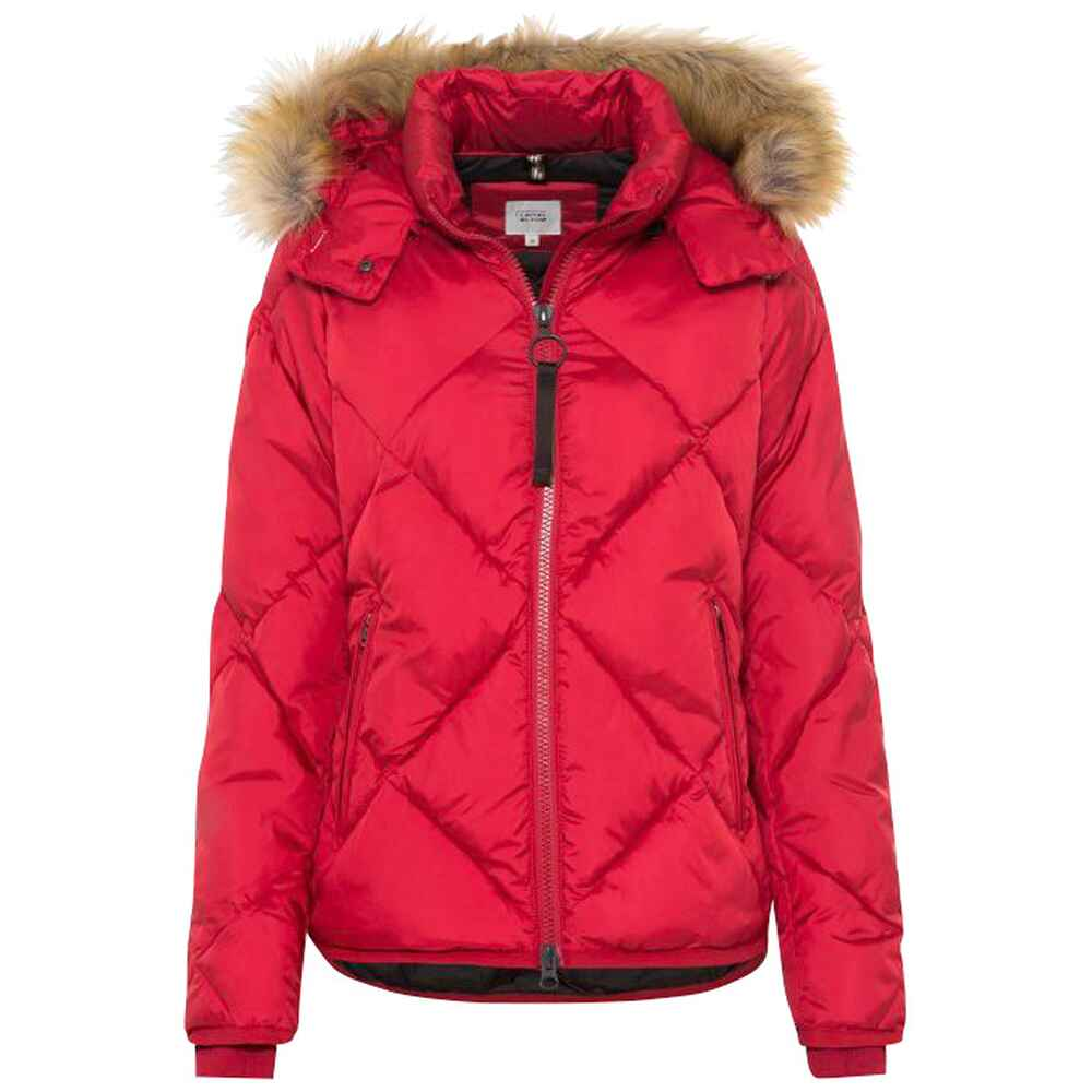 Winter-Steppjacke mit Kapuze, camel active
