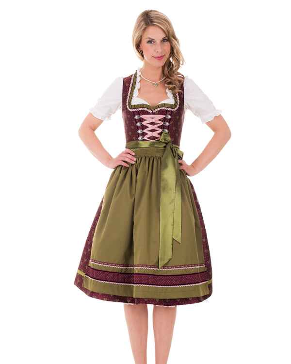 kr ger madl midi dirndl rot dirndl kleider. Black Bedroom Furniture Sets. Home Design Ideas