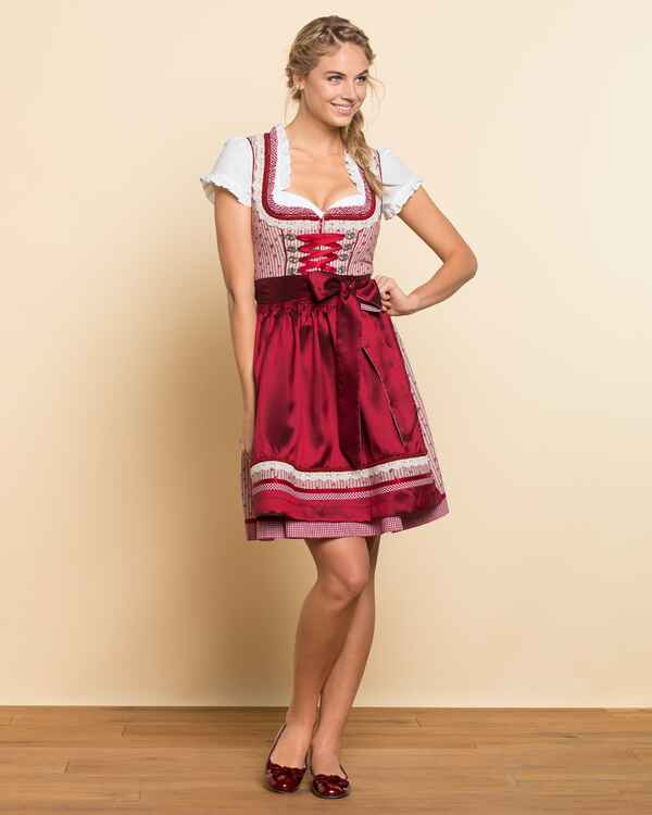 kr ger madl mini dirndl rosso rot dirndl kleider. Black Bedroom Furniture Sets. Home Design Ideas