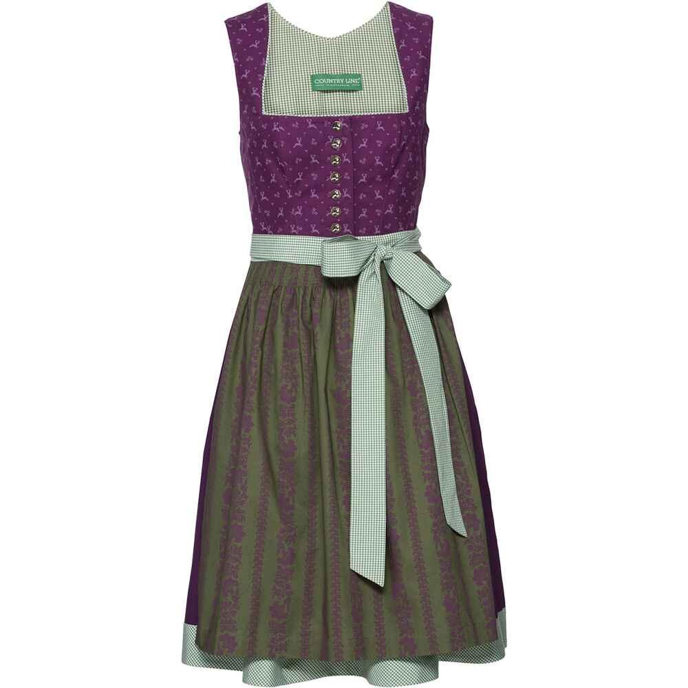 Country line midi dirndl hirsch lila dirndl kleider for Hirschbilder modern
