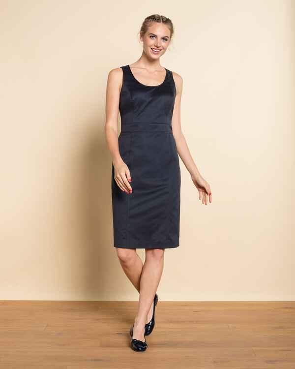 brigitte von sch nfels kleid mit taillenbetonung dunkelblau dirndl kleider bekleidung. Black Bedroom Furniture Sets. Home Design Ideas