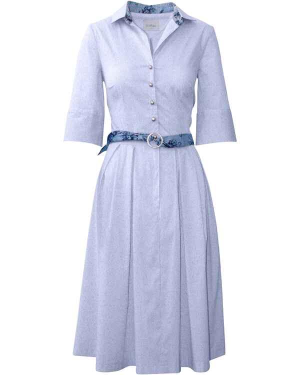 h. moser Kleid Warngau-2 (Blau/Weiß) - Kleider ...