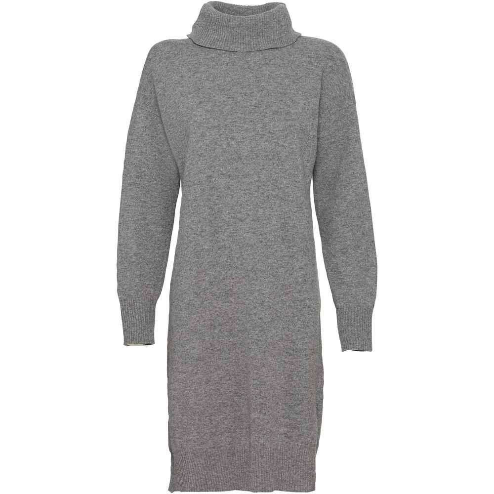 highmoor legeres strickkleid grau  kleider  bekleidung