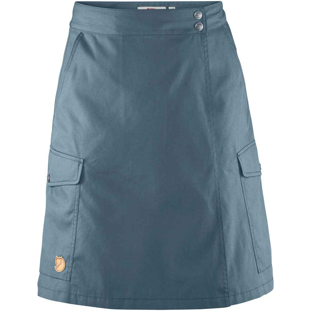Damen Rock Övik Travel Skirt, Fjällräven