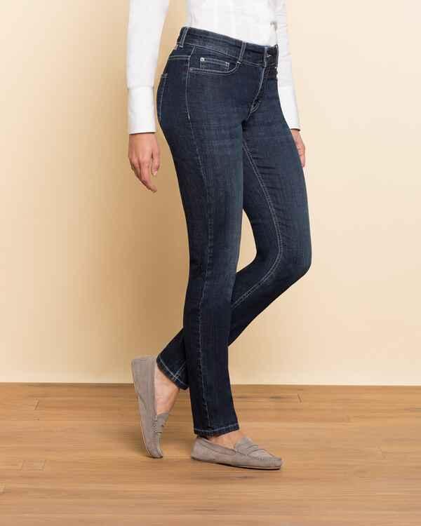 mac jeans angela pipe blau damenmode mode online. Black Bedroom Furniture Sets. Home Design Ideas