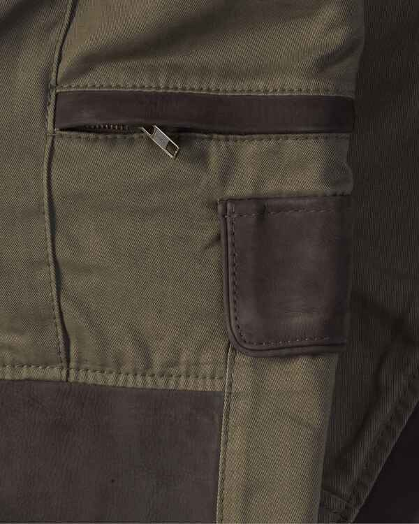 Damen Jagdhose Prestige light Baumwolle + Leder, Parforce Traditional Hunting