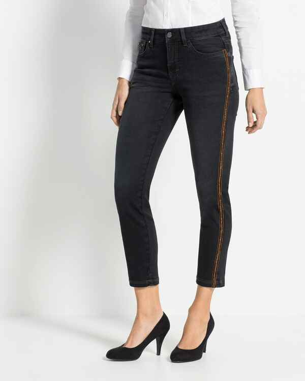 7/8-Jeans Dream Slim Velvet Chain, MAC