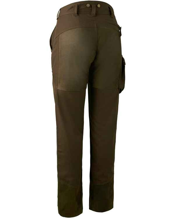 Damen Hose Lady Paris Leather Mix, Deerhunter
