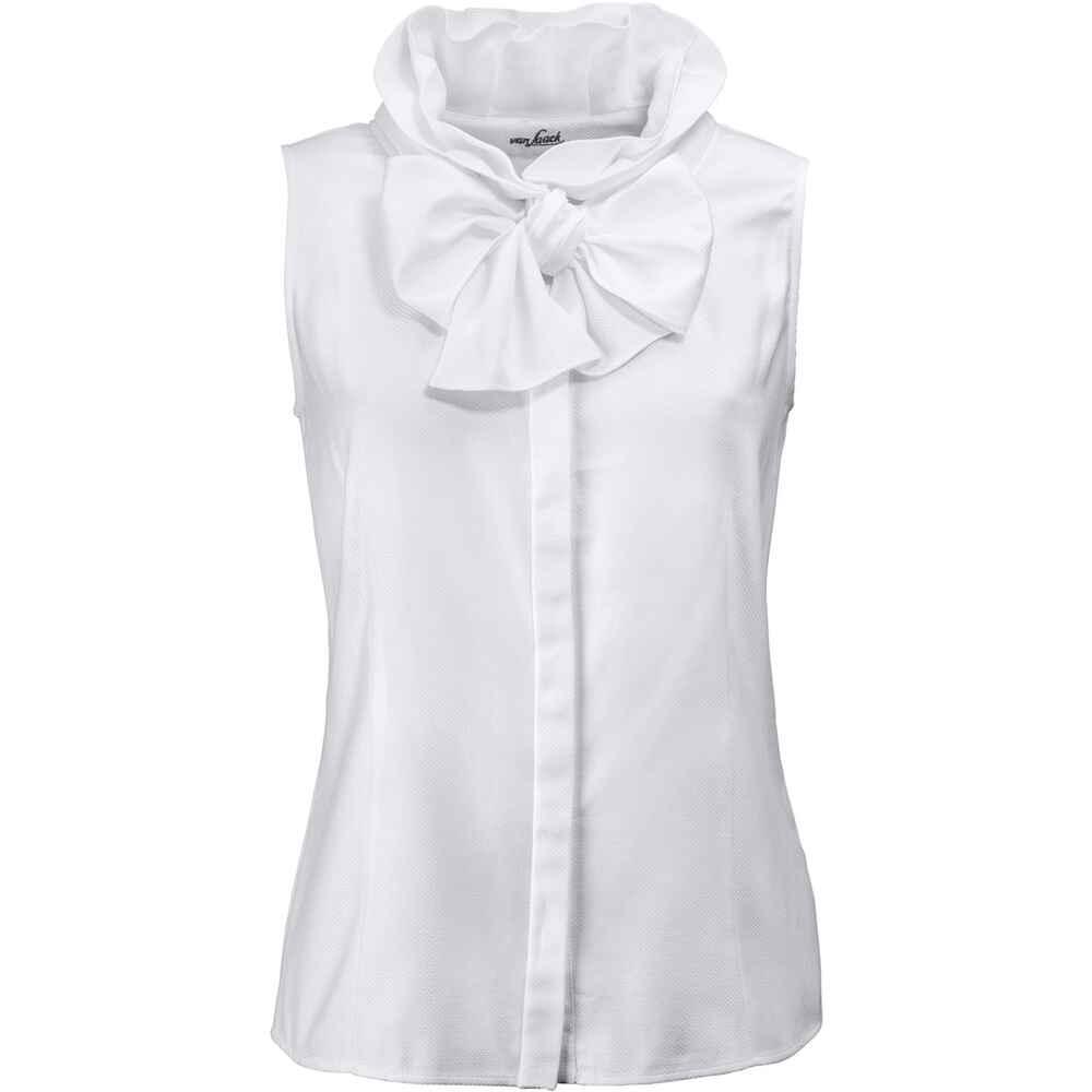 van laack bluse adrienne wei blusen bekleidung damenmode mode online shop. Black Bedroom Furniture Sets. Home Design Ideas