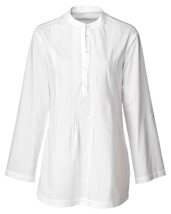 Brigitte von Schönfels Longbluse (Weiß) - Blusen - Bekleidung ... 82eb981891