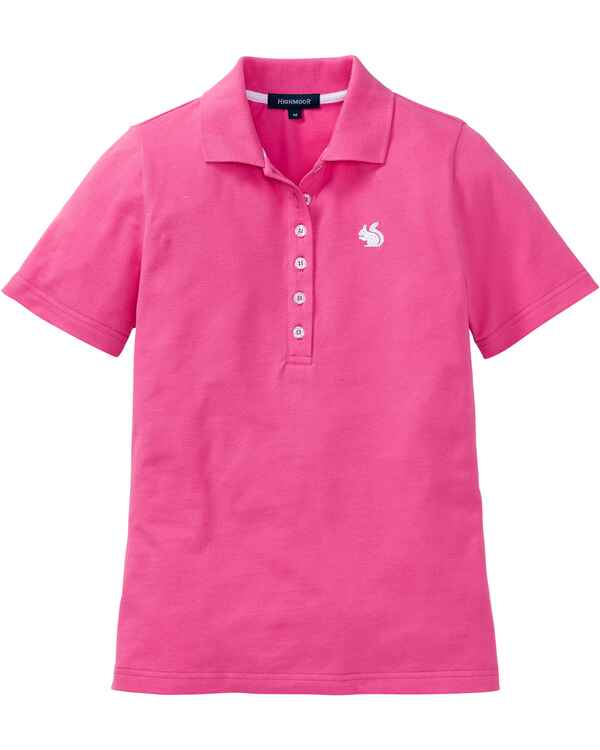 Poloshirt mit Stickerei, HIGHMOOR
