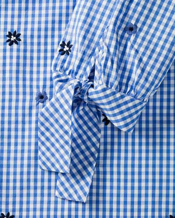 lieblingsst ck bluse mit blumen blau blusen bekleidung damenmode mode online shop. Black Bedroom Furniture Sets. Home Design Ideas
