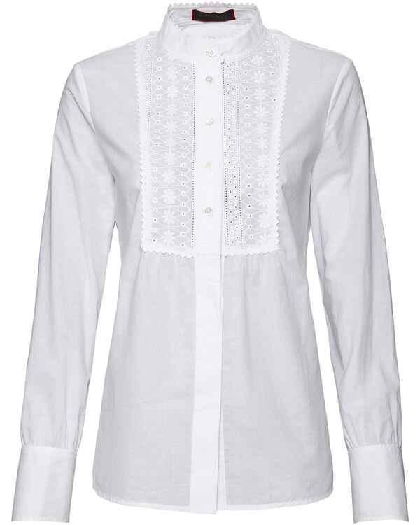 REITMAYER Stehkragenbluse (Weiß) - Blusen - Bekleidung - Damenmode ... 722b44c438
