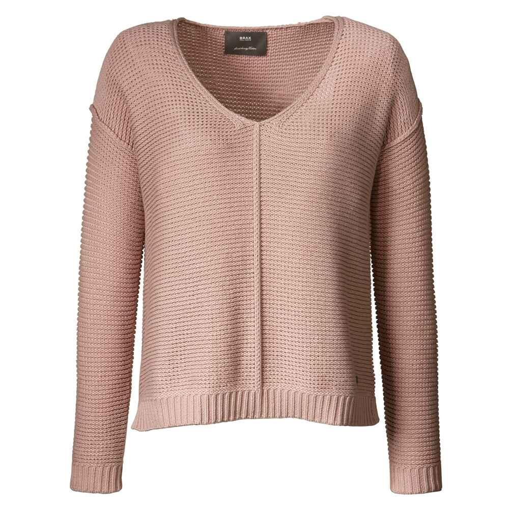 brax v pullover lana apricot pullover bekleidung damenmode mode online shop. Black Bedroom Furniture Sets. Home Design Ideas