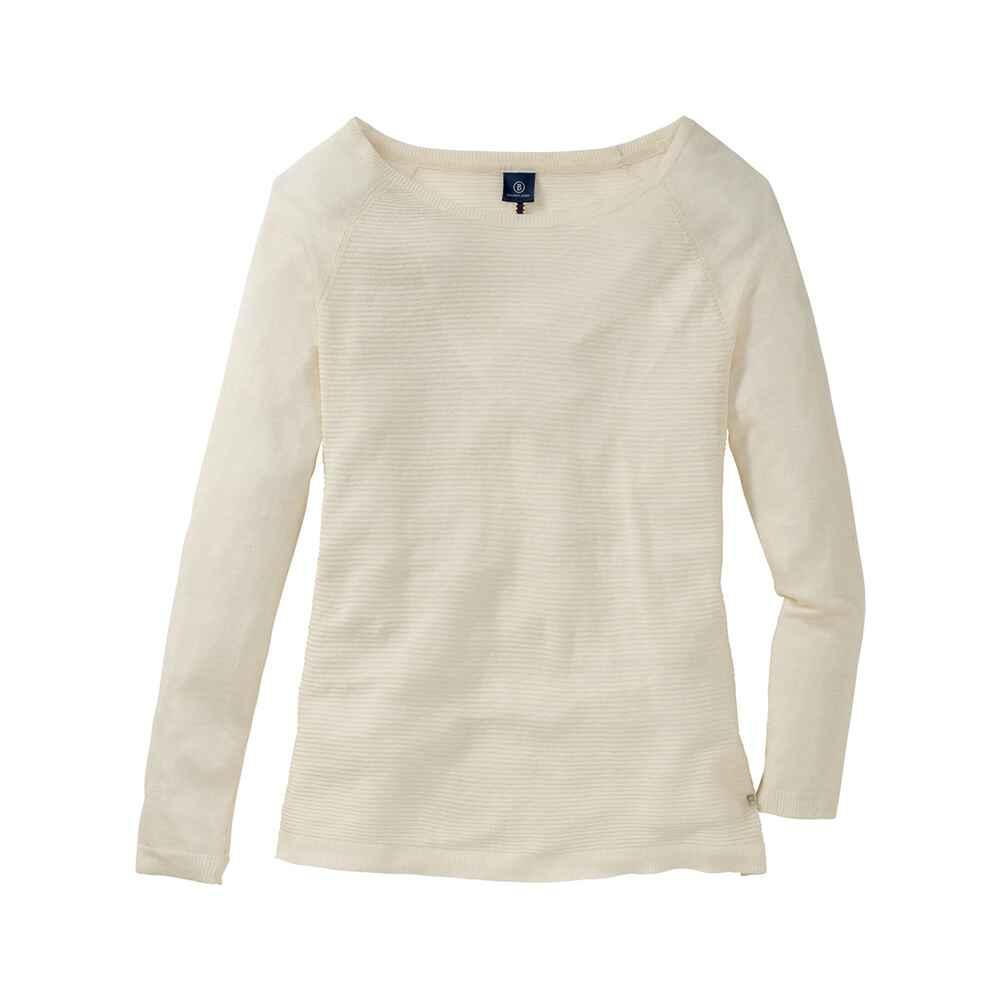 bogner jeans leichter pullover natur pullover bekleidung damenmode mode online shop. Black Bedroom Furniture Sets. Home Design Ideas