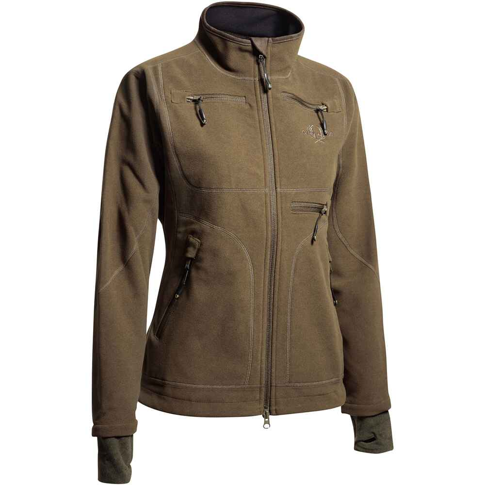 Damen Fleecejacke Hurricane, Chevalier