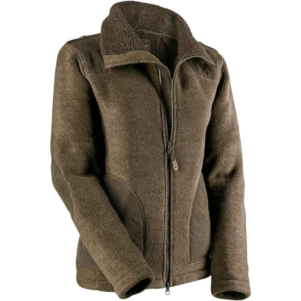 Blaser Damen Fleecejacke (Schlamm) - Jacken - Bekleidung für Damen ... 0841b842ce