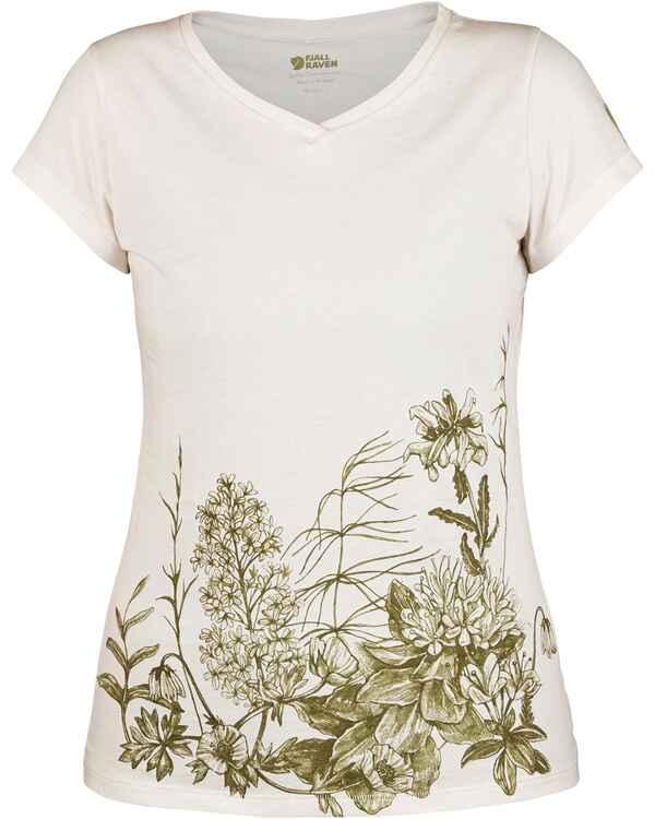 Fjällräven Damen T-Shirt Meadow (Creme) - Blusen   Shirts ... 3ea568f431