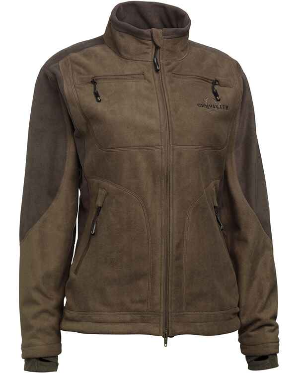 Damen Fleecejacke Gale Windblocker, Chevalier