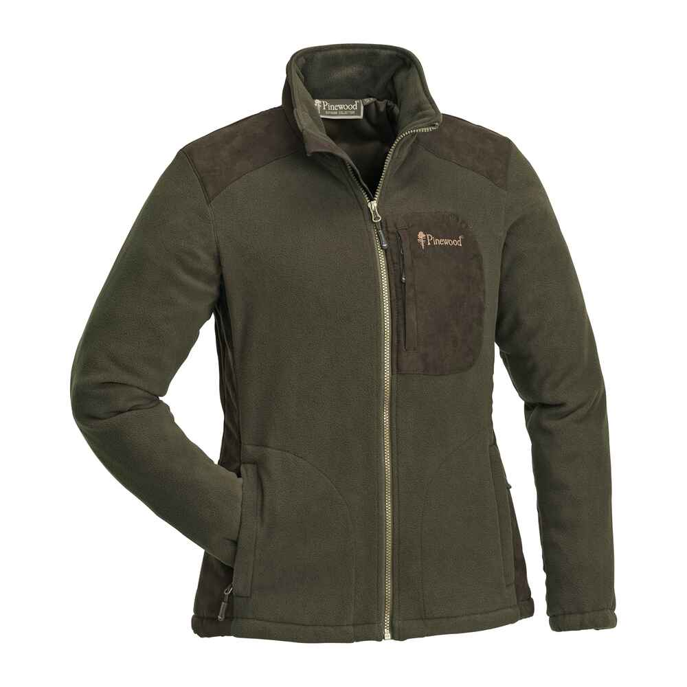 Damen Fleecejacke Wildmark Membran, Pinewood