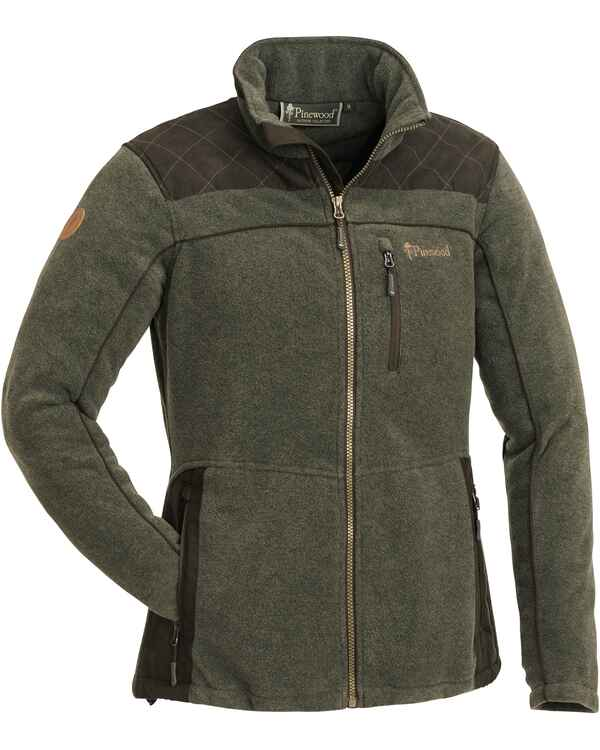 Damen Fleecejacke Diana Exclusiv, Pinewood